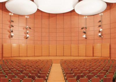 Auditorium-terracotta-soundproof-cladding-600x500