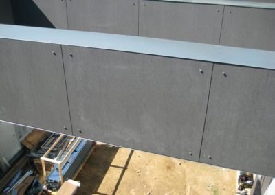 Rainscreen wall cladding Slimtech private villa (11)