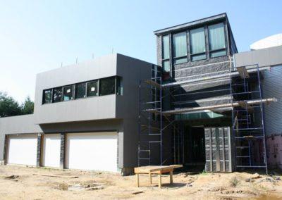 Rainscreen wall cladding Slimtech private villa (18)