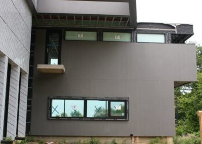 Rainscreen wall cladding Slimtech private villa (24)