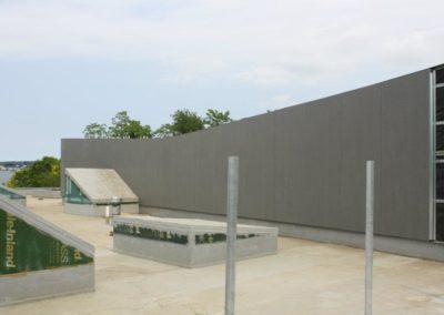 Rainscreen wall cladding Slimtech private villa (3)