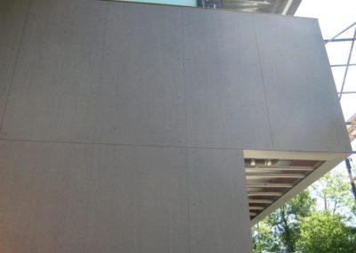 Rainscreen wall cladding Slimtech private villa (9)