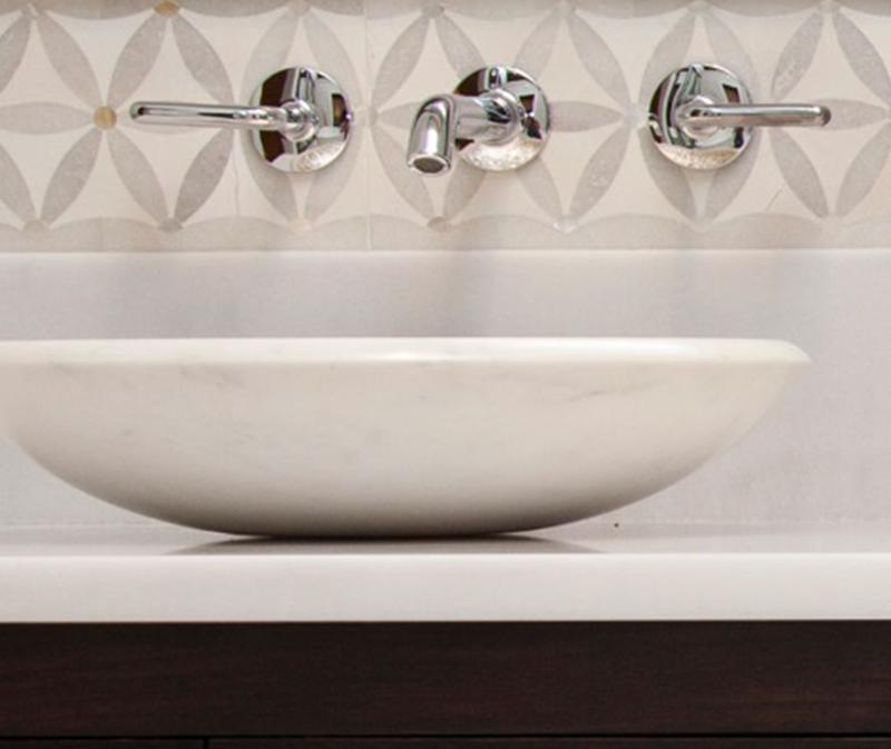 bath vanity top white marble