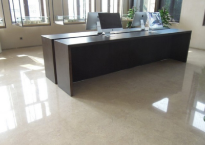 Hotel Lobby Flooring Materials with Style