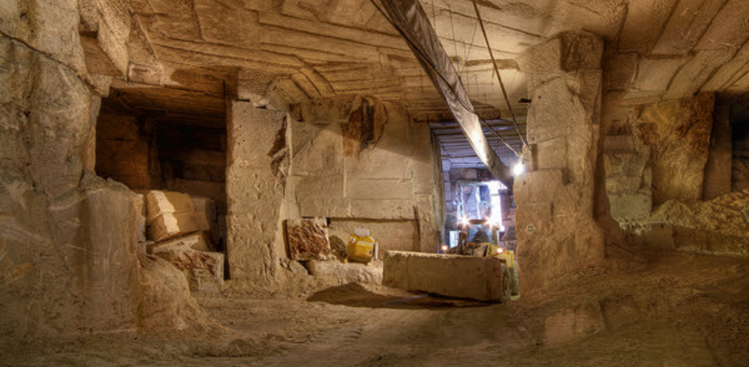 Stone cathedrals:  A journey through Vicenza Stone quarries
