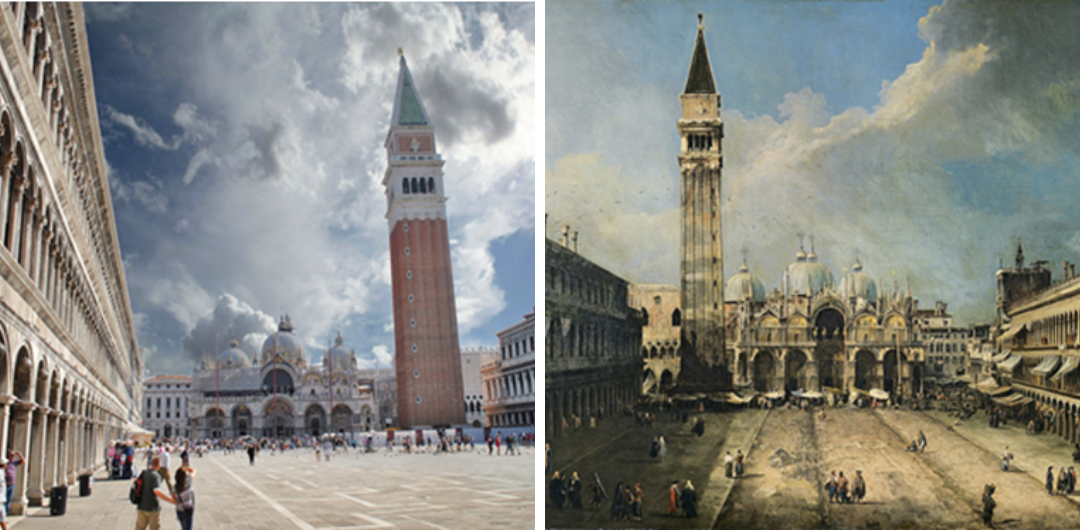 Palladio by images: Architecture paintings in Venice