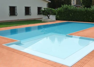 Private Pool with Terracotta